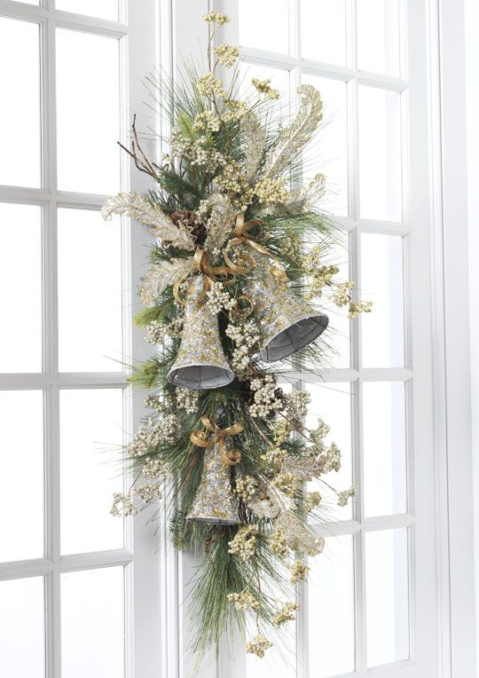 Decoraciones navide as conoce las mejores tendencias del for Decoracion para puertas