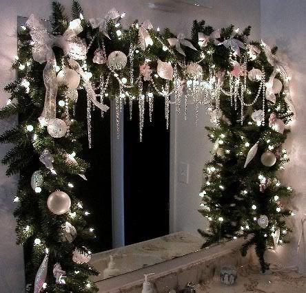 Decoraciones navideñas para ventanas