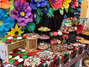 Imágenes de mesa de postres mexicana