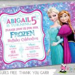 invitaciones de frozen ana