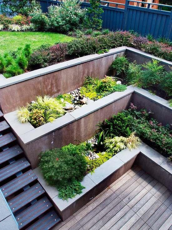 Jardineras contemporaneas