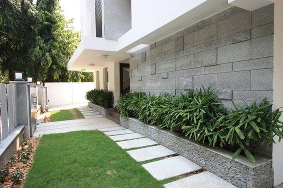 Jardineras en fachadas