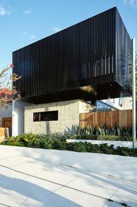 Jardineras en fachadas modernas