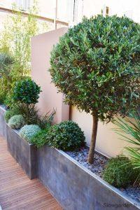 Jardineras minimalistas