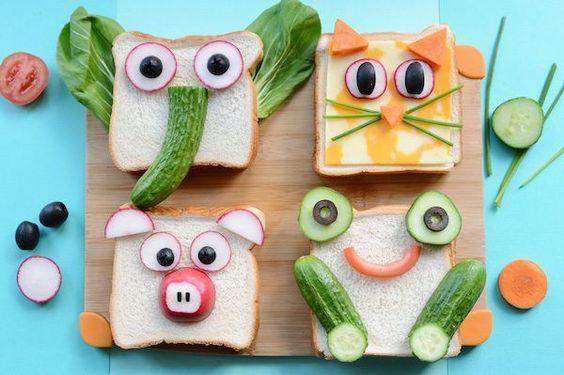 lunch divertidos para niños de primaria