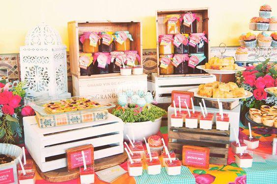 Mesa de dulces mexicanos para boda