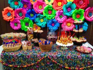 Mesa de dulces mexicanos para xv años