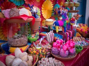 Postres para fiesta temática mexicana