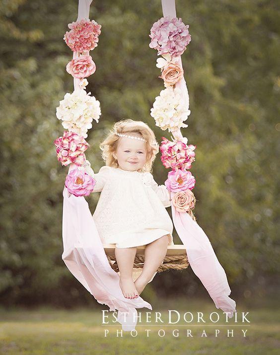sesion fotografica para niñas de dos años