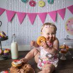 sesion fotografica para niñas de un año