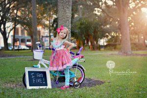 sesion fotografica para niñas de 5 años