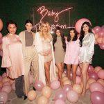 Vestidos de baby shower de famosas