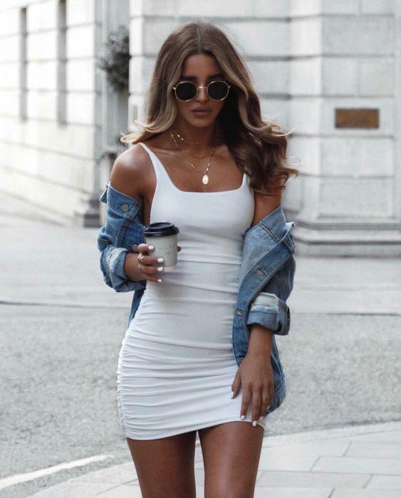 Vestidos para disimular cintura ancha