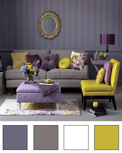 Colores para salones modernos decoracion de interiores - Colores de salones modernos ...