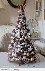 Como decorar arboles de navidad pequeños