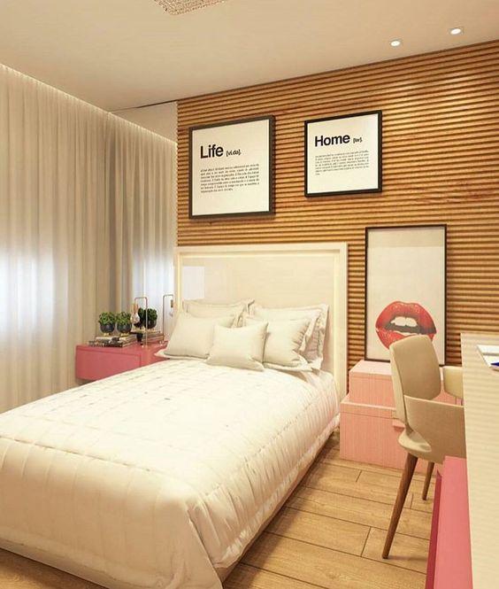 Dormitorios juveniles peque os modernos y originales para for Decoracion de cuartos para jovenes mujeres