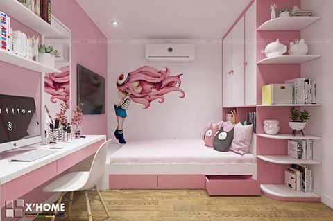 cuartos pequeños para adolescentes mujeres