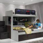 dormitorios juveniles pequeños para dos