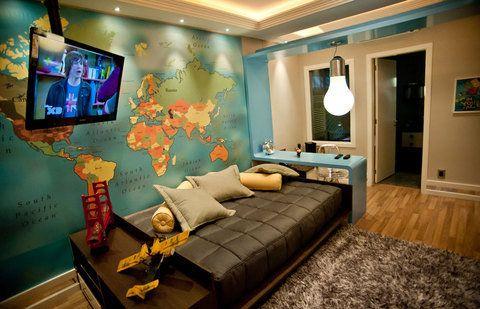 dormitorios pequeños juveniles para hombres