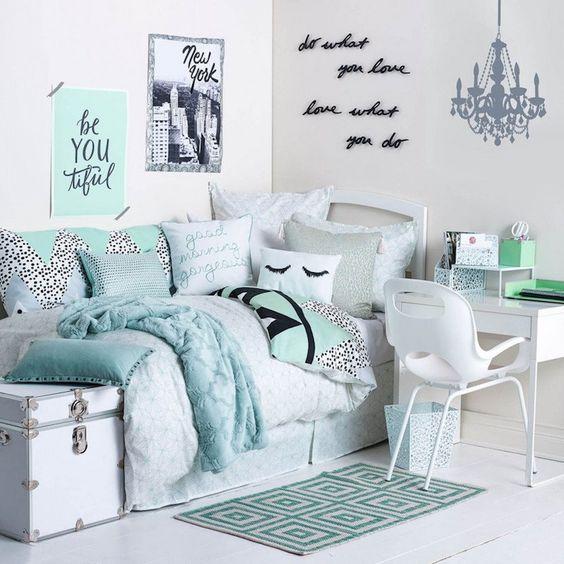 Dormitorios Juveniles Pequeños Modernos Y Originales Para