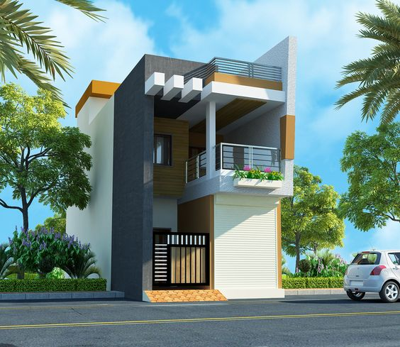 fachadas para casas de 6 metros frente proyectos que debo