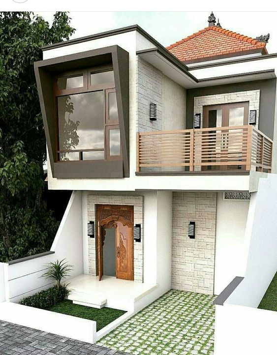 Casas modernas 2019 2020 fotos e ideas de casas modernas for Fachadas de casas modernas de 6 metros