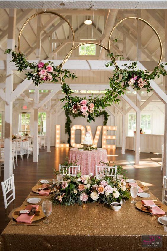 ideas para decorar bodas con aros de hula hula (1)