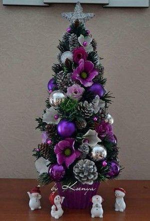 Im genes de arboles de navidad peque os decoracion de - Decoracion recibidores pequenos ...