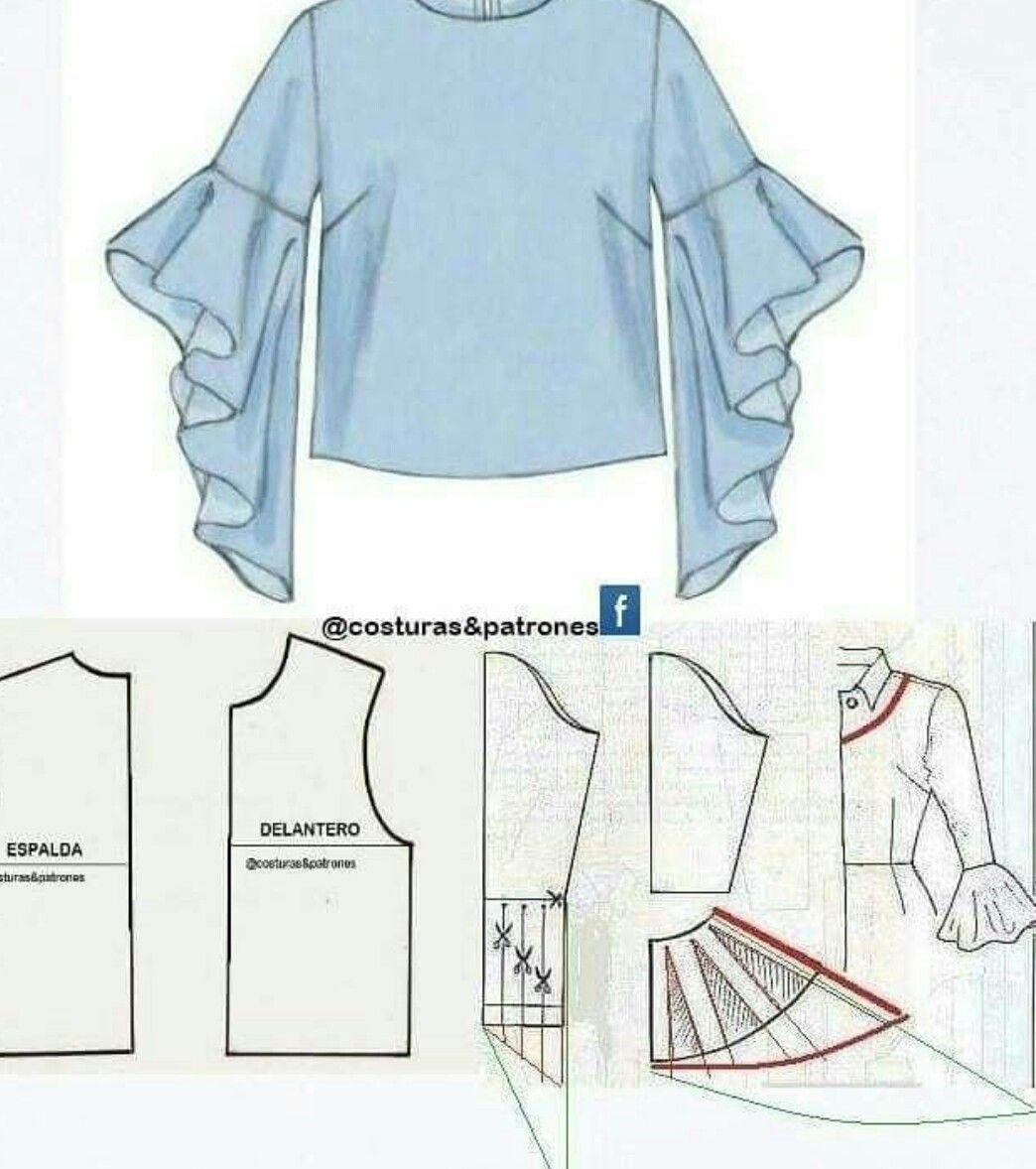 patrones de blusas modernas 6 |