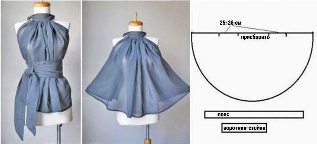 Patrones de blusas modernas 2019 -2019 | Moldes de blusas para ...