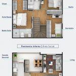 planos de casas de 6 metros de frente