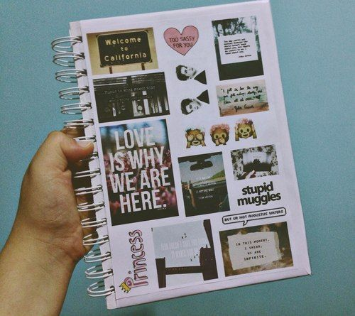 como decorar libretas con fotografias (2)