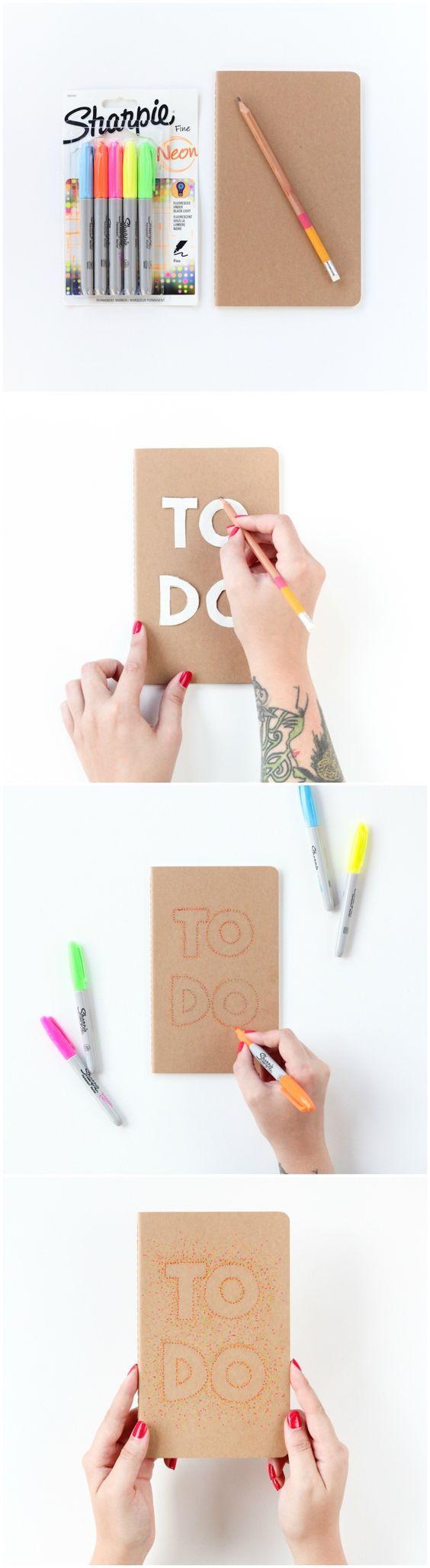 Como decorar libretas estilo tumblr