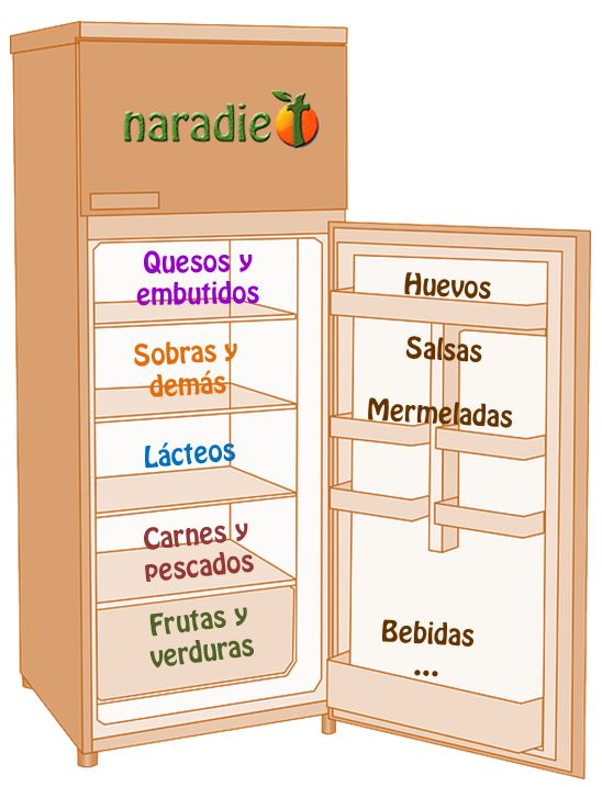 how to keep the refrigerator or the refrigerator organized