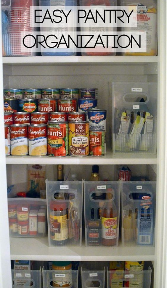 how to organize the cupboard