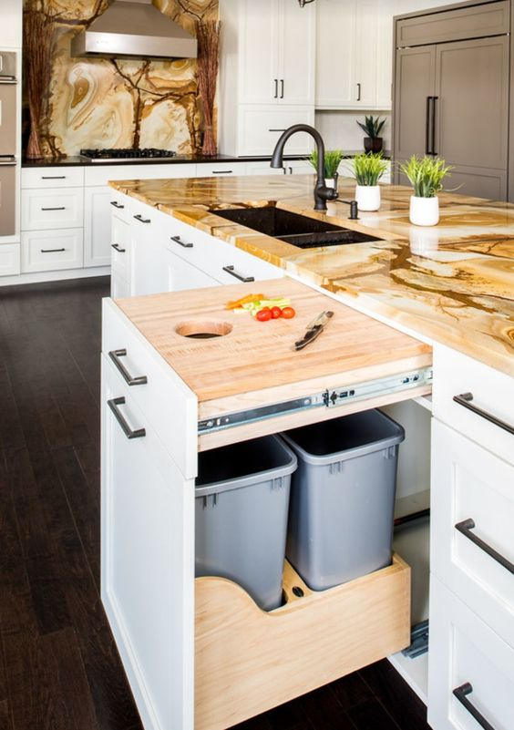 how to organize the integral kitchen