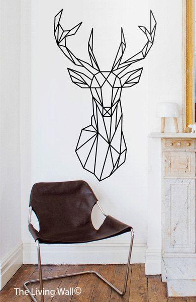 Figuras impresas para decorar paredes