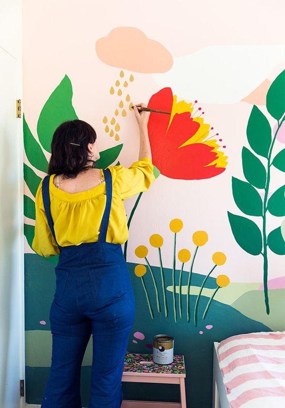 Figuras modernas para decorar paredes