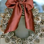 Imágenes de coronas navideñas modernas