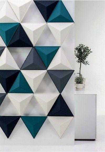Paneles 3D para pared