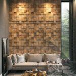 paneles de madera 3d