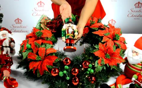 Curso para hacer coronas navideñas modernas