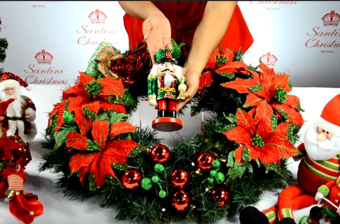 Paso a paso para hacer las coronas navideñas modernas
