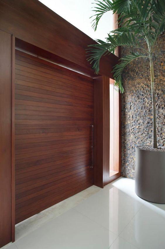 Puertas Para Exterior De Madera Como Organizar La Casa Fachadas