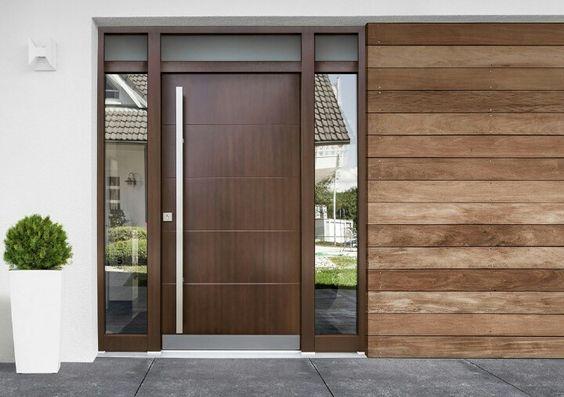 Catalogo De Puertas Para Exterior Materiales Estilos Y Acabados