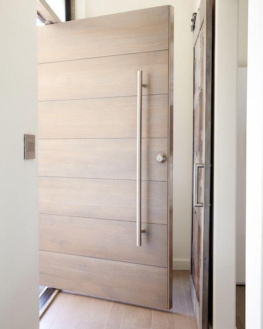 Catalogo de puertas para exterior materiales estilos y acabados - Puertas de exterior modernas ...