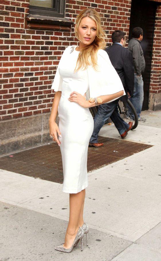 Vestidos blancos para mujeres maduras