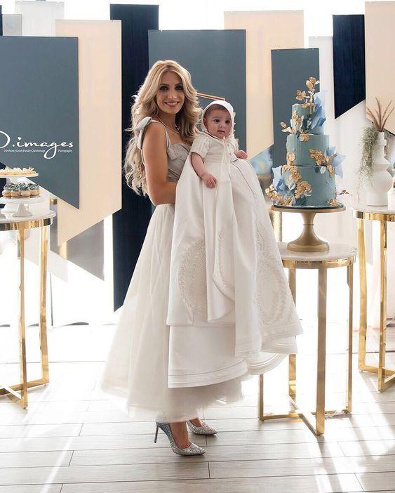 Vestidos Para La Mama En El Bautizo Tendencias 2019