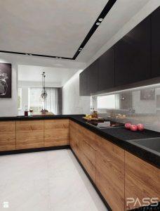 cocinas de madera modernas en tonos oscuros (1)