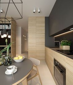 cocinas de madera modernas en tonos oscuros (5)